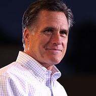 Mitt Romney followed me around the Internet