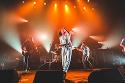 Cage the Elephant at the Plaza Live (photo by James Dechert)