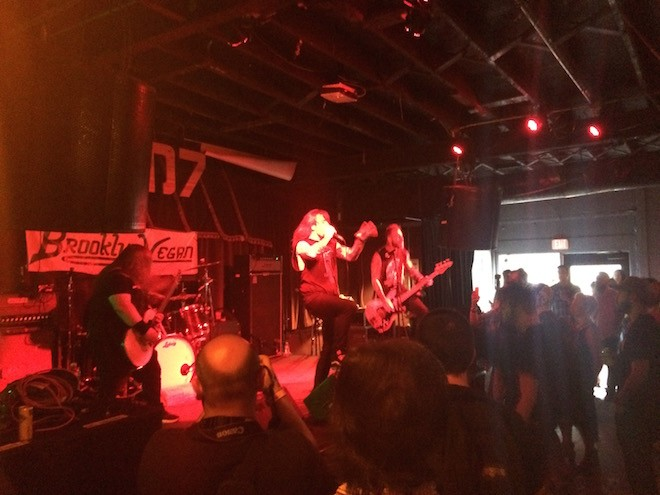 Cancer Bats at SXSW 2015 - PHOTO BY NICK MCGREGOR