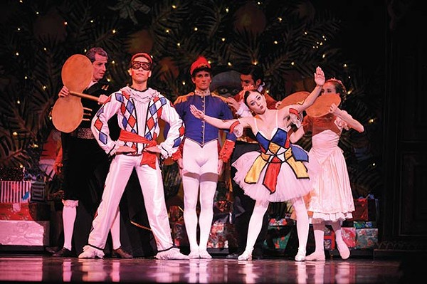 PHOTO OF 'DOLLS DANCING' COURTESY ORLANDO BALLET