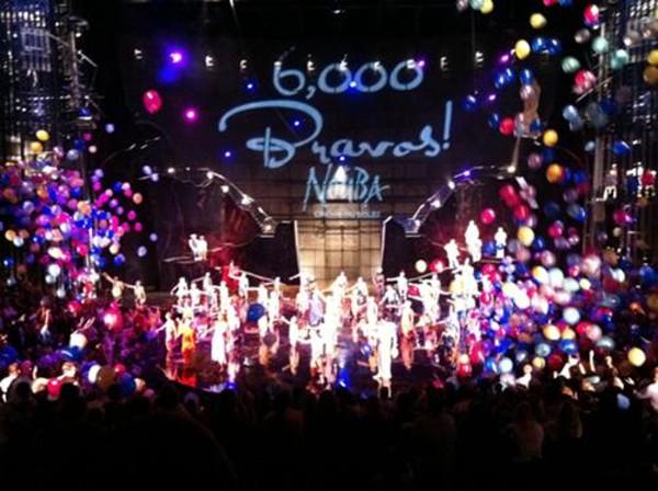 """Cirque du Soleil """"La Nouba"""" Celebrates 6000 Shows"""