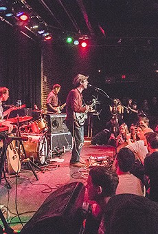 Clap Your Hands Say Yeah at the Social (photo by James Dechert)