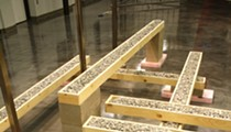 Closing reception tonight for Brian R. Jobe and Jason S. Brown's Alignment 2x show