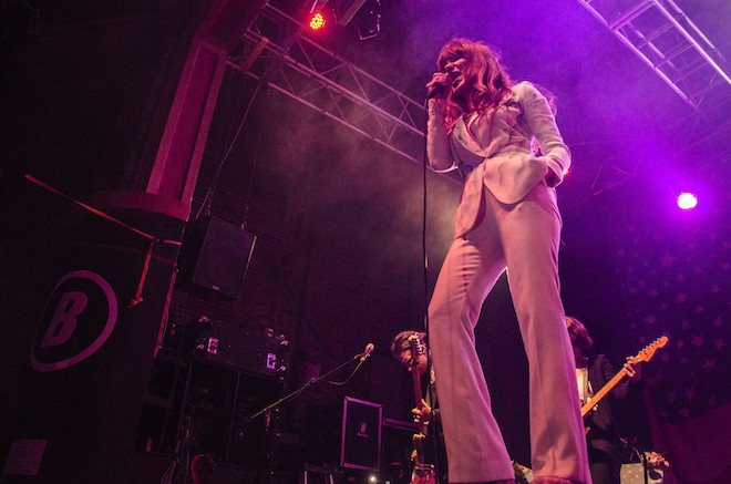 Love u forever: Photos from Jenny Lewis and Speedy Ortiz at the Beacham - PHOTO BY IANCARLO SUAREZ