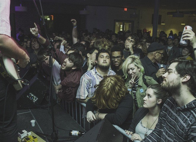 Sunbathing animal: Photos from Parquet Courts, Soda and Merchandise in Gainesville - CHRISTOPHER GARCIA