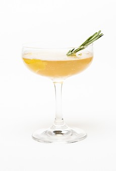 Culinary cocktails: Smokey Old Tom