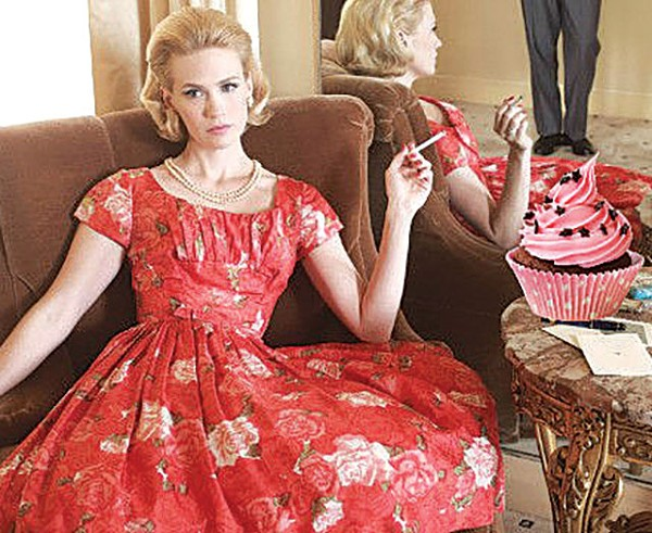 Cupcakes, Cateyes and Cocktails: Mad Men Edition