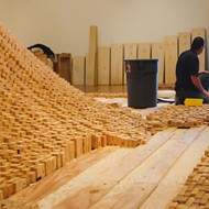 Curious how that huge Maya Lin installation came together? Check out how it comes apart