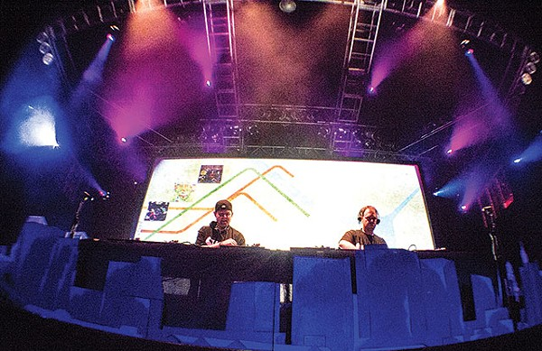 CUT CHEMIST and DJ SHADOW - PHOTO BY CHRISTOPHER GARCIA
