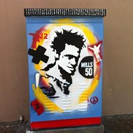 Mills 50 commissions local artists to paint utility boxes