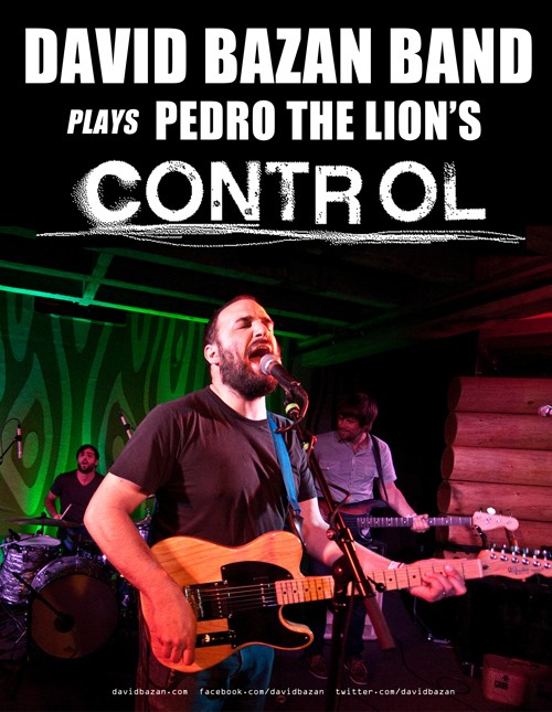 David Bazan will be playing Pedro the Lion's 'Control' album when he comes to the Social on Nov. 28.
