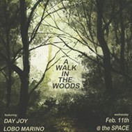 Day Joy turns the Space into a magical forest for A Walk in the Woods