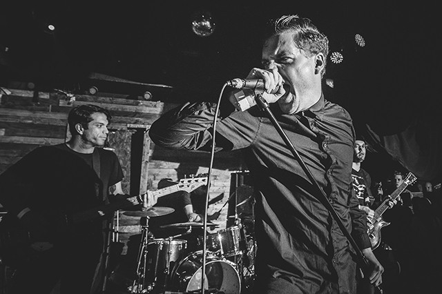 Deafheaven at Backbooth (photo by James Dechert)