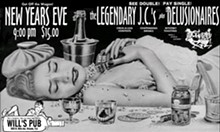 Delusionares New Year's Eve poster from 2005.