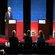 Dispute over a fan causes late start to gubernatorial debate