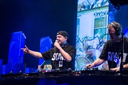 DJ Shadow & Cut Chemist at House of Blues (photo by Christopher Garcia)