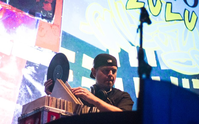 DJ Shadow at House of Blues (photo by Christopher Garcia)