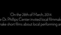 """Dr. Phillips Center for the Performing Arts releases """"Focus on Local"""" videos"""