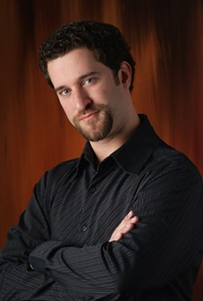 Dustin Diamond takes a stab at comedy in Longwood on Friday