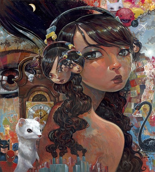 'Eyes Like Infinity' by Aaron Jasinski
