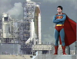 FIghting for truth, justice and acceptable weather for shuttle launches.