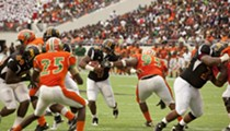 Florida A&M Rattlers and Bethune-Cookman Wildcats compete in annual Florida Classic