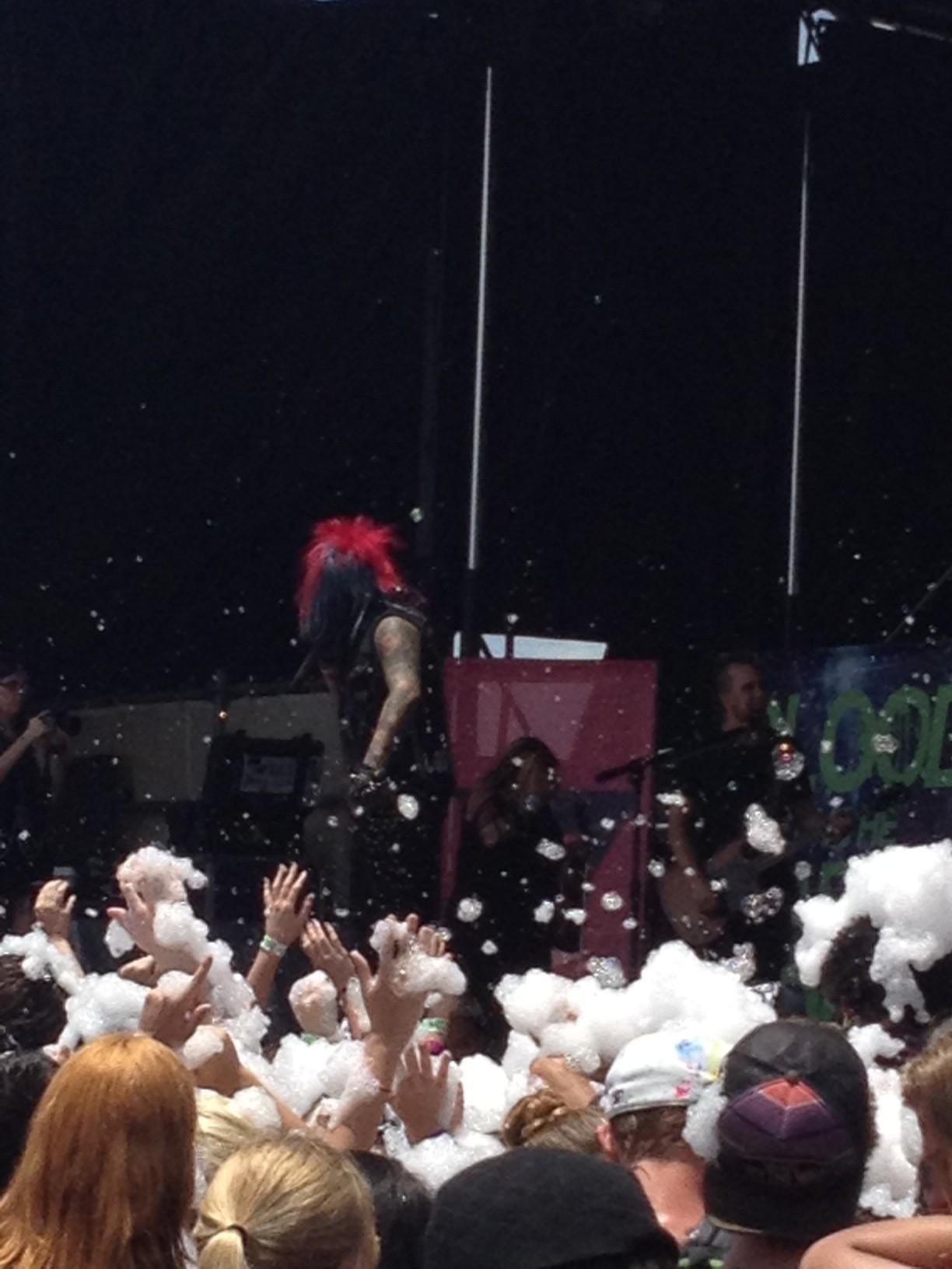 Foam! Party like it's 1999!