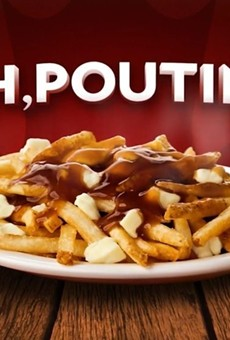 Foodies at the Fringe: Specialty menus on the lawn - including poutine today! - through the end of Fringe Fest