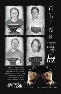 """Circus Arts and PB&J Theatre Factory in """"Clink"""" at the 2015 Orlando Fringe - IMAGE VIA CIRCUS ARTS/PB&J THEATRE FACTORY"""