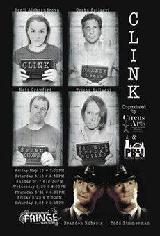 """Circus Arts and PB&J Theatre Factory in """"Clink"""" at the 2015 Orlando Fringe"""