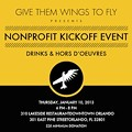 Give Them Wings to Fly Kickoff Event tonight at 310 Lakeside