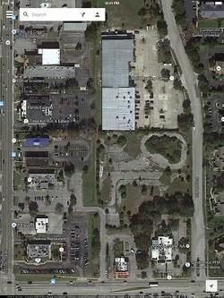 Google Map image of the Skyplex location
