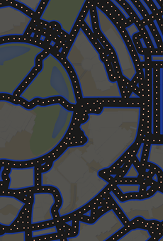 Google Maps shows you what Orlando would look like if it were a Pac-Man game