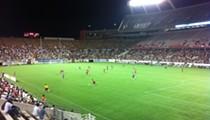 Gooooooal! Orlando's soccer team fells British club in rare international match
