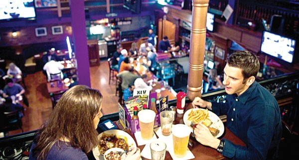 Grub lifts us up where we belong: Mojo is a great place to grab an Abita or a hurricane and something fried before, during or after a Magic game; just don't expect any culinary revelations - JASON GREENE