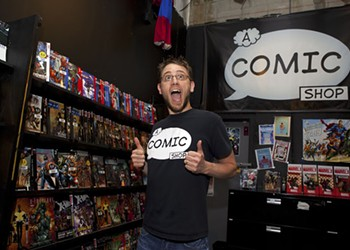Thanks to the Geek Easy, A Comic Shop reinvents itself as a coed lounge