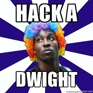 Hack-a-Dwight strategy kind of ruled