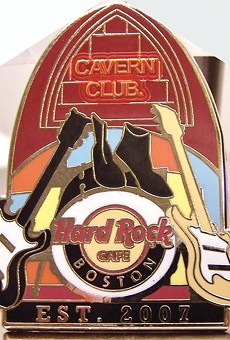 Hard Rock Cafe tangles with famous Beatles venue the Cavern Club