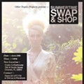 Haughty by nature: OPP's Swap & Shop is tomorrow!