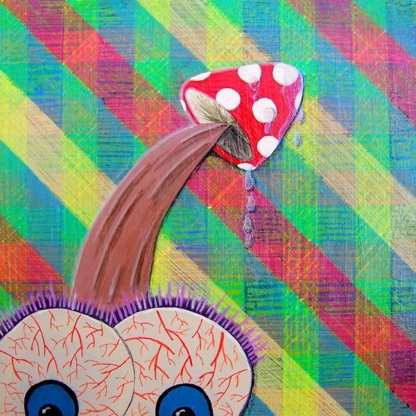 'Head Drip' by Dana Irving
