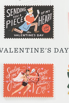 Hearts and flowers and pie pops too: Rifle Paper Co. sidewalk sale today, tomorrow in Hannibal Square
