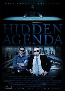 "DIANE BALDWIN - ""Hidden Agenda"" poster"