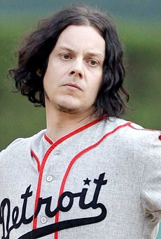 Holy guacamole! Jack White shows up in Lakeland to visit his Detroit Tigers