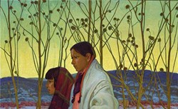 """""""Homeward Bound,"""" by E. Martin Hennings, from the exhibition """"A Sense of Place: The Taos Society of Artists"""""""
