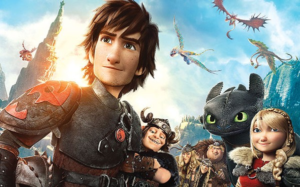 'How to Train Your Dragon 2'
