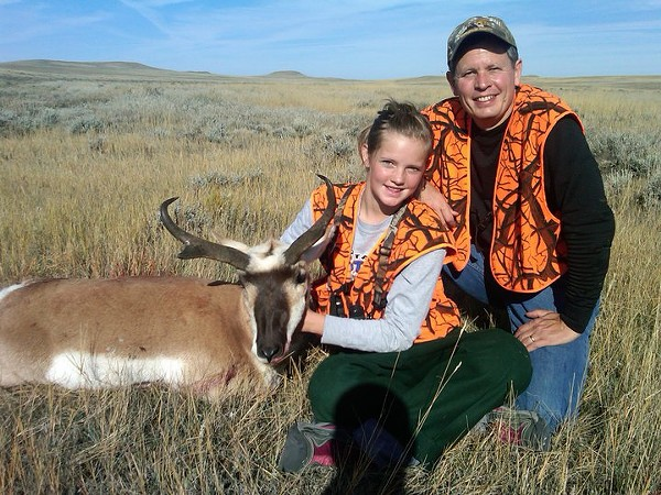 Hunting with Steve Daines