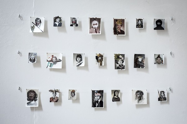 """FALSE AFRICANS"" BY TESS BONACCI; PHOTO BY ROB BARTLETT"