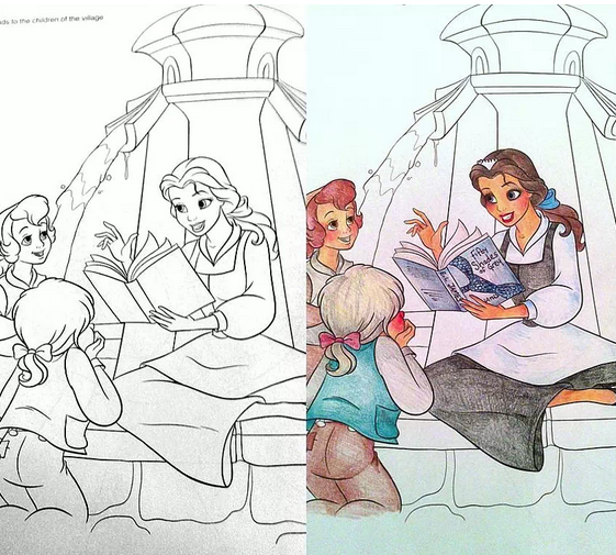 Image via Coloring Book Corruptions
