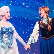 Frozen Holiday flurries into Disney