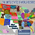 What world records does Florida hold?